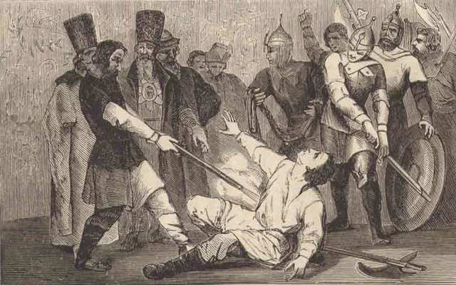 Илейка объявил себя Петром - якобы сыном царя Федора Ивановича.