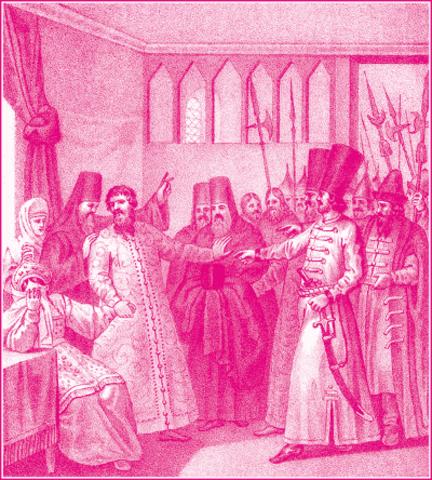Царь Василий был сведен с престола и насильственно пострижен в монахи
