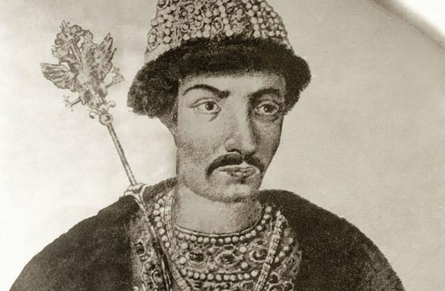 Борис Годунов взошёл на престол
