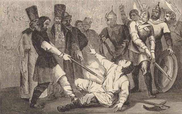 Смерть Лжедмитрия  