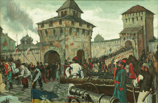 Второе ополчение освободило Москву о польских гарнизонов