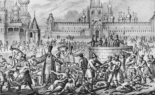 Великий голод 1601-1603