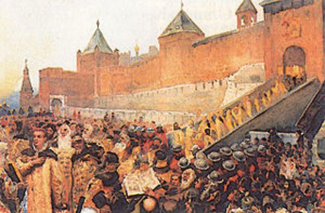 Вторжение отрядов Лжедмитрия на территорию России