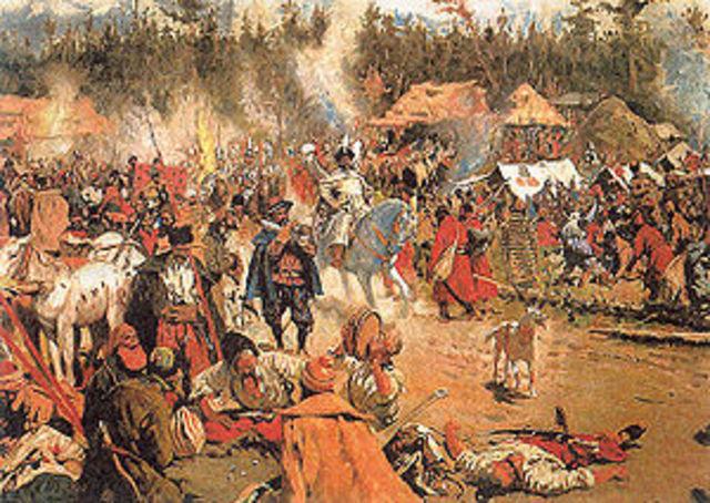 Вторжение войск Лжедмитрия в Россию