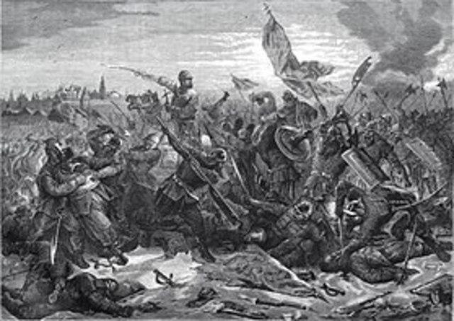 Наступление войск второго ополчения на Москву и ее взятие