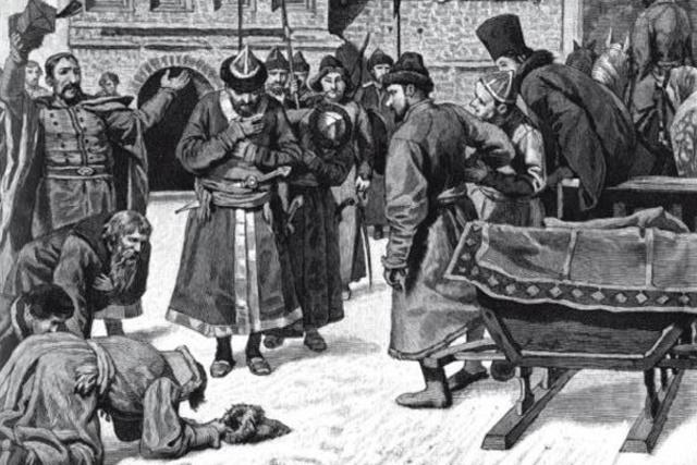 Убийство Лжедмитрия II