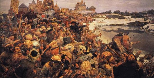 Восстание под руководством «воеводы царя Дмитрия» Ивана Болотникова.
