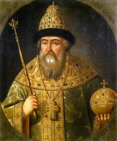 Провозглашение Василия Шуйского царём