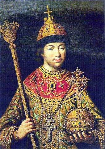 Официальное объявление новым русским царём Михаила Романова
