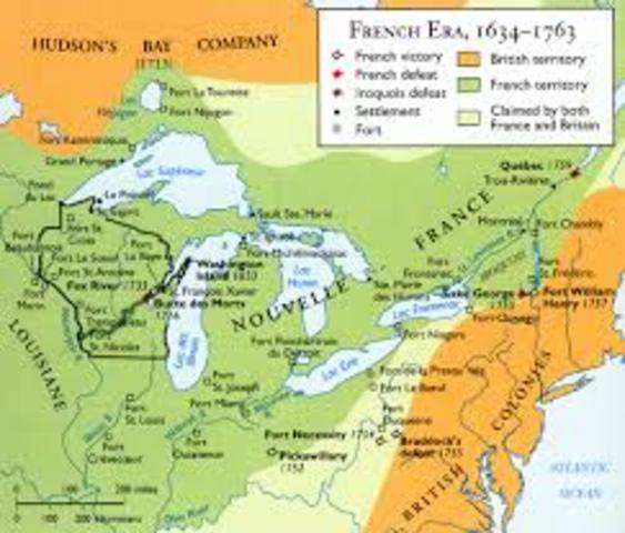British and French were Fighting for Land and Part of Trade