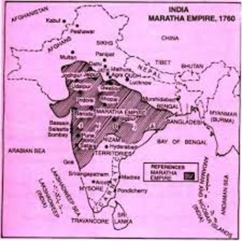Mughal Empire Officially Enters its Long Period of Decline