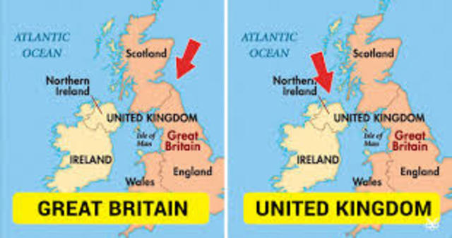 Forming of the United Kingdom of Great Britain