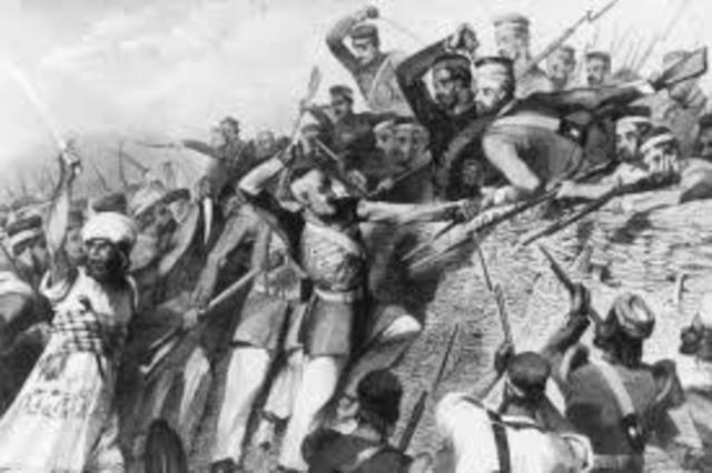 Indians vs British Rule