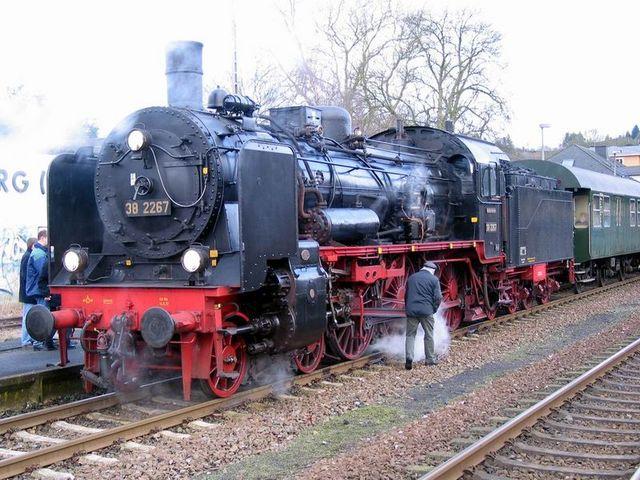 El ferrocarril en Francia y Alemania