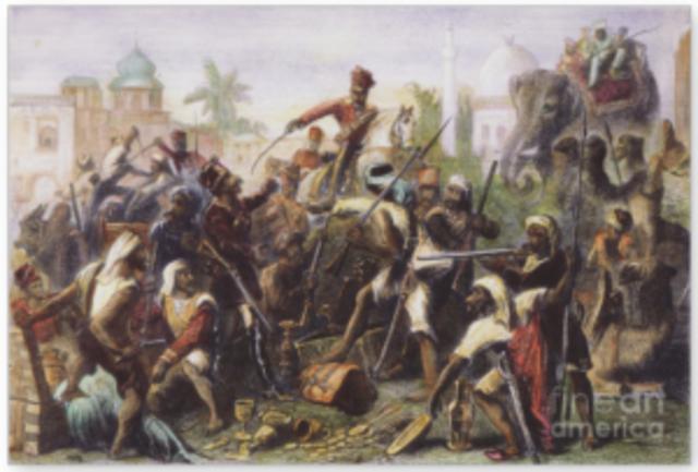 Sea Point Mutiny (Sepoy Rebellion)
