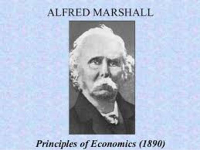 MARSHALL'S MAIN CONTRIBUTIONS
