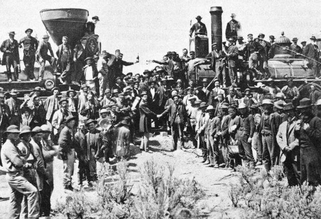 El tren atraviesa los EE.UU.
