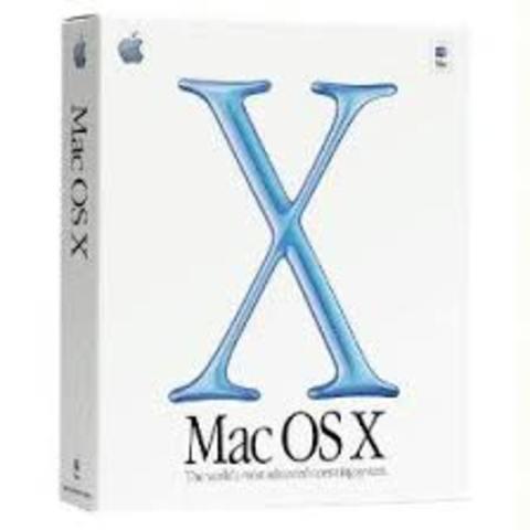 MacOS X, versión 10.0
