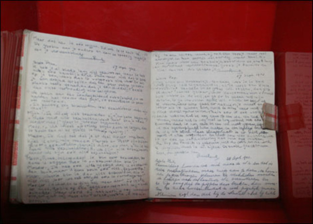 Anne Recieves the Diary