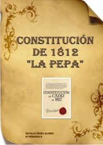 """PRIMERA CONSTITUCIÓ """"LA PEPA"""""""