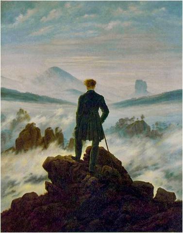 Wandelaar Boven De Nevelen