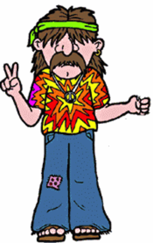 """The term """"hippie"""" used for the first time"""