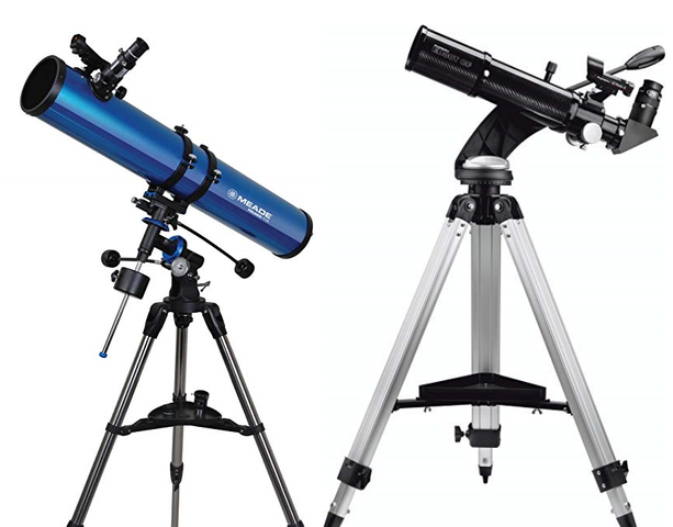 Refracting and Reflecting Telescopes