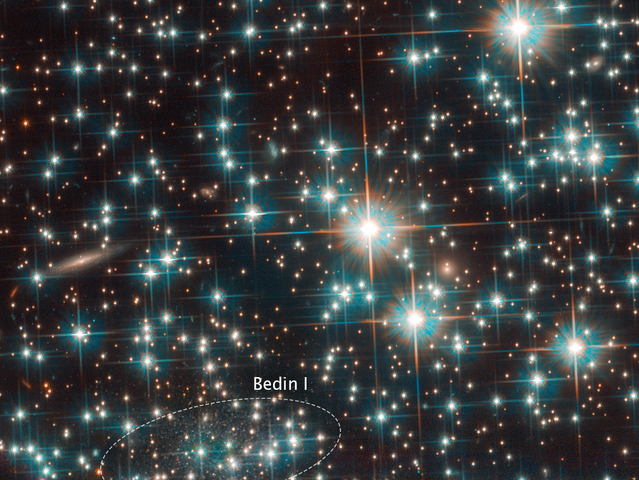 Hubble Finds a New Galaxy