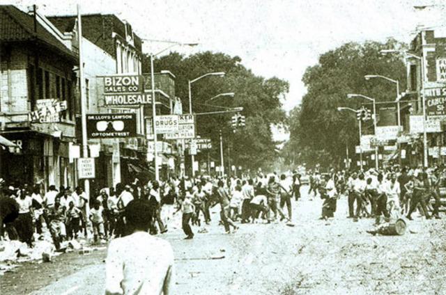 43 die in Detroit riots, worst in U.S. history