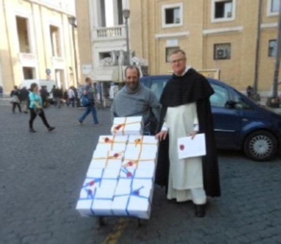 Envío actas de investigación a Roma