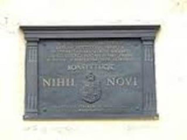 Constitución Nihil novi.