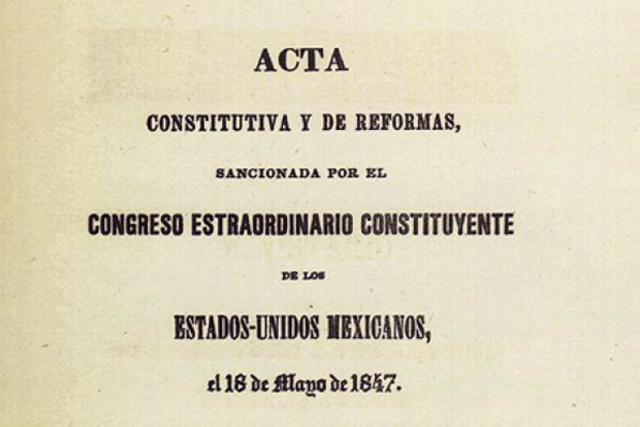 Acta Constitutiva y de Reforma