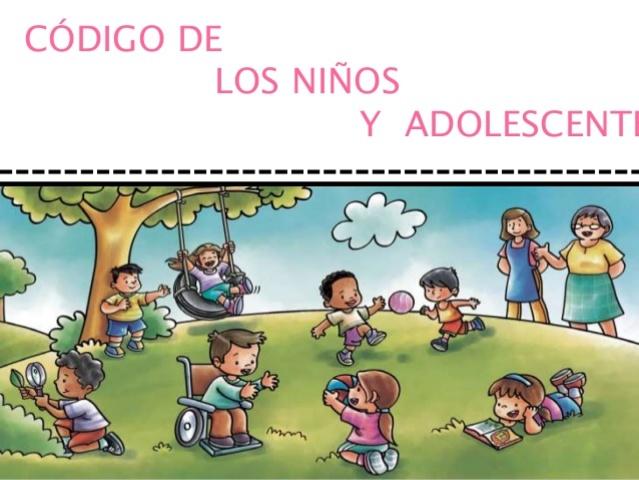 (1993). CÓDIGO DE LOS NIÑOS Y ADOLESCENTES