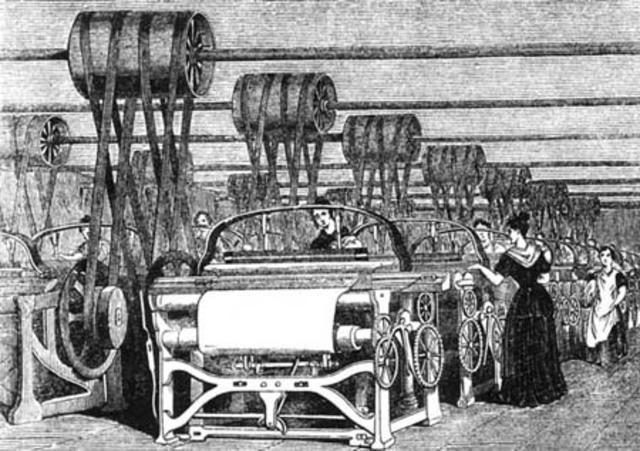 (1760-1840) Revolución industrial