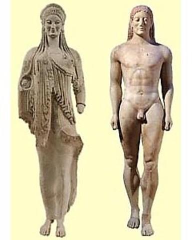 Escultura período Arcaico