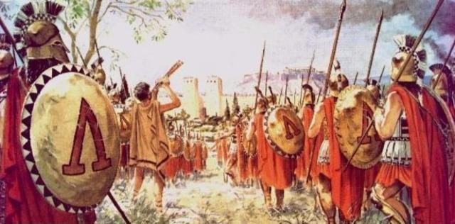 El niño en las diferentes culturas antiguas: Esparta