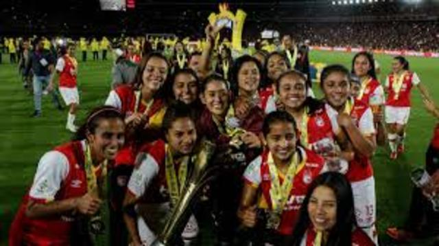 primera liga femenina en Colombia