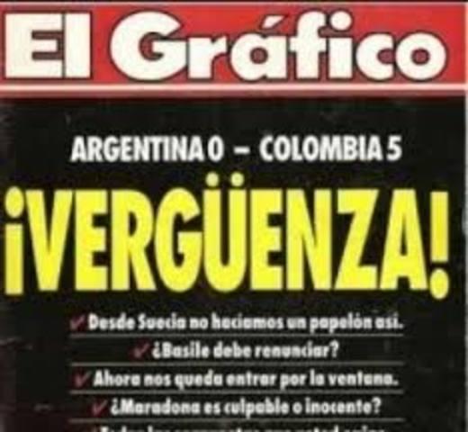 Eliminatorias mundial USA 1994