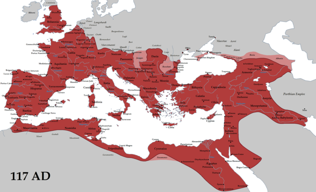 Rome at its greatest extent