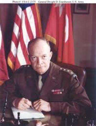 Dwight D Eisenhower  - Commanding General Of Europen Theater