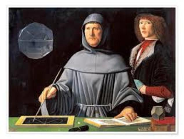 """El cálculo de las probabilidades se inició como solución a problemas relativos a los juegos de azar. El problema más importante era el conocido como """"problema del reparto de apuestas"""" por Luca Pacioli"""