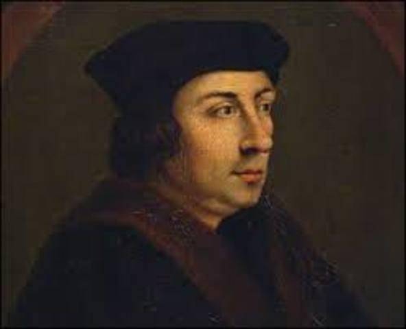 Durante un brote de peste el gobierno inglés comenzó a publicar la estadística semanal de muertes por orden de LORD TOMAS CROMWELL