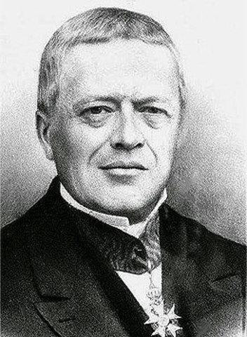 ANTOINE AUGUSTIN COURNOT fue el primero en usar el término mediana (valeur médiane) para el valor que divide la distribución de probabilidad en dos mitades iguales.