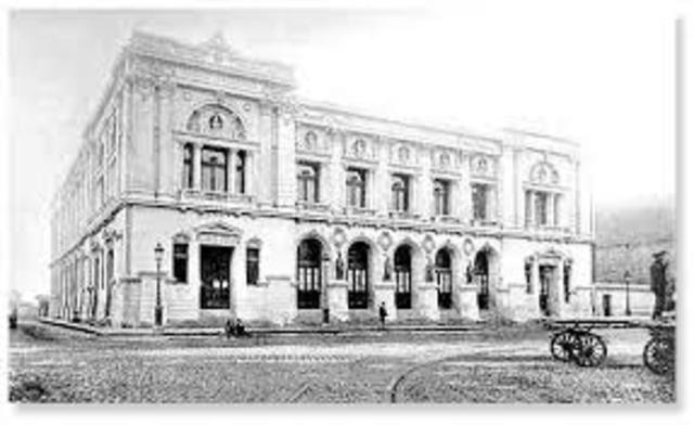 Se crea la Dirección General de Estadística en el Ministerio del Fomento.