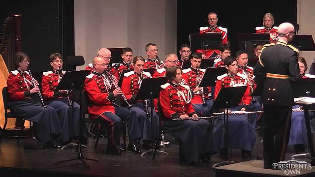I leave the Marine Band