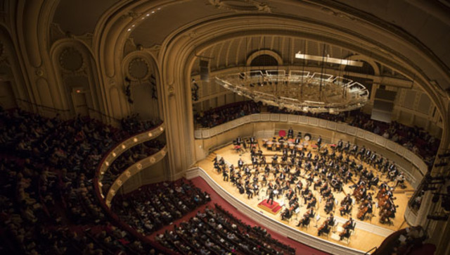 I join the Chicago Symphony Orchestra
