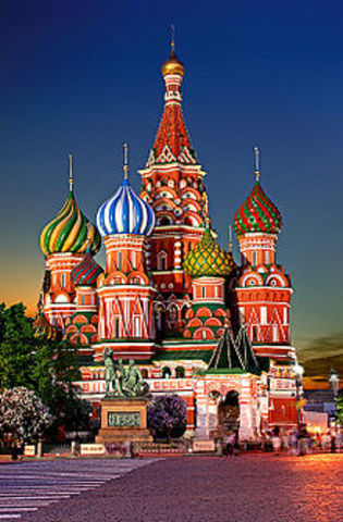 I go to Russia