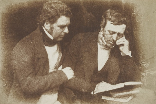 David Octavius Hill y Robert Adamson