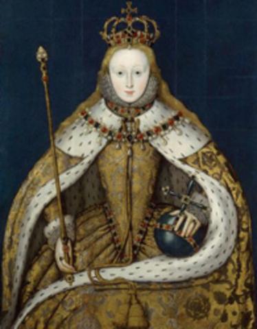 Elizabeth I became Queen of England.
