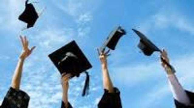 I'm going to graduate 8th grade!